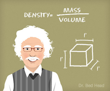 Amerisleep's Dr. Bed Head explains density