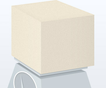 Density of memory foam is the weight of one cubic foot