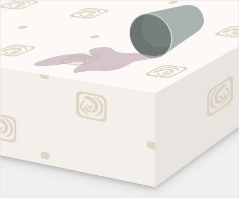 Mattress protectors help prevent stains with waterproof backing